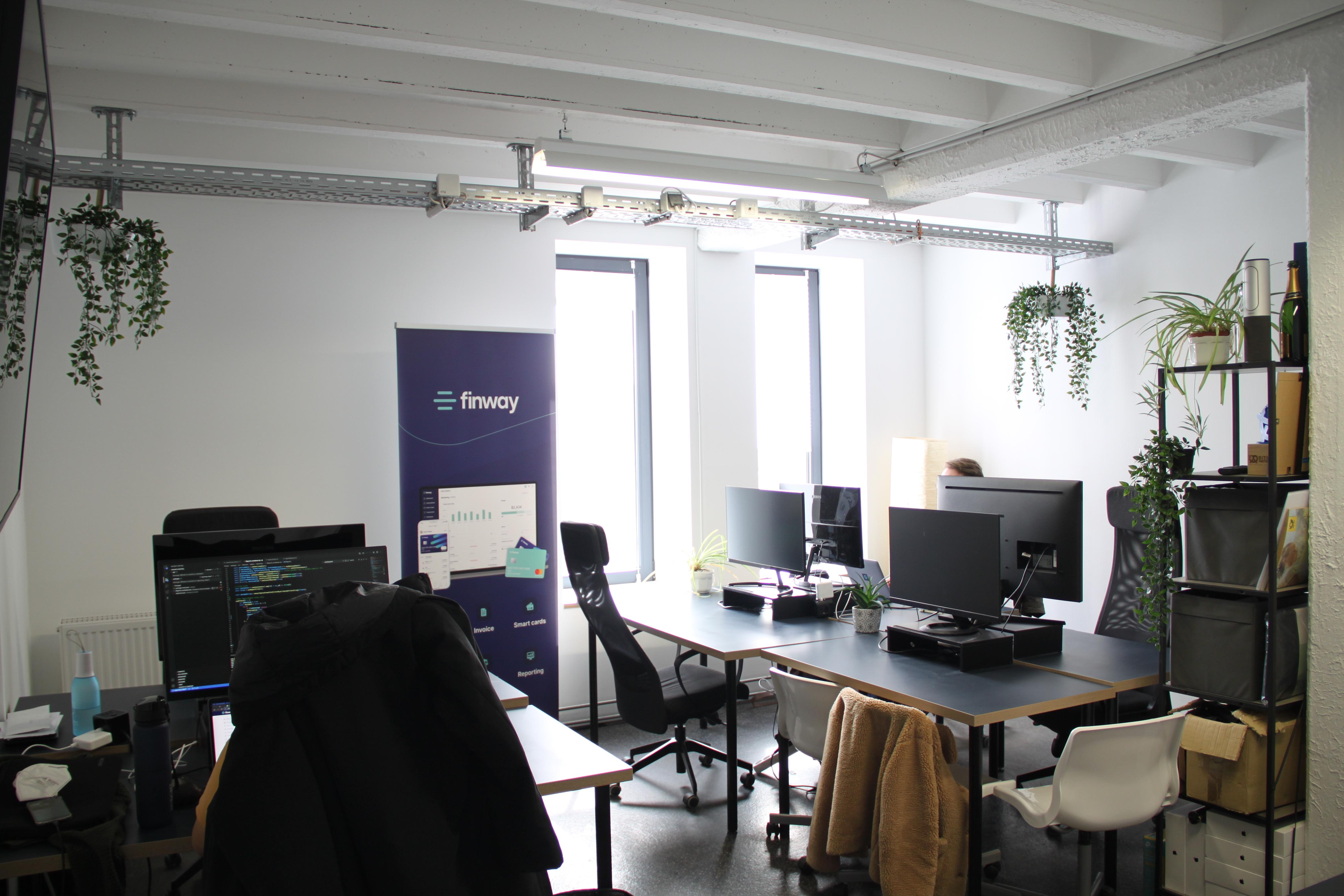 Finway Office im Werk1 München