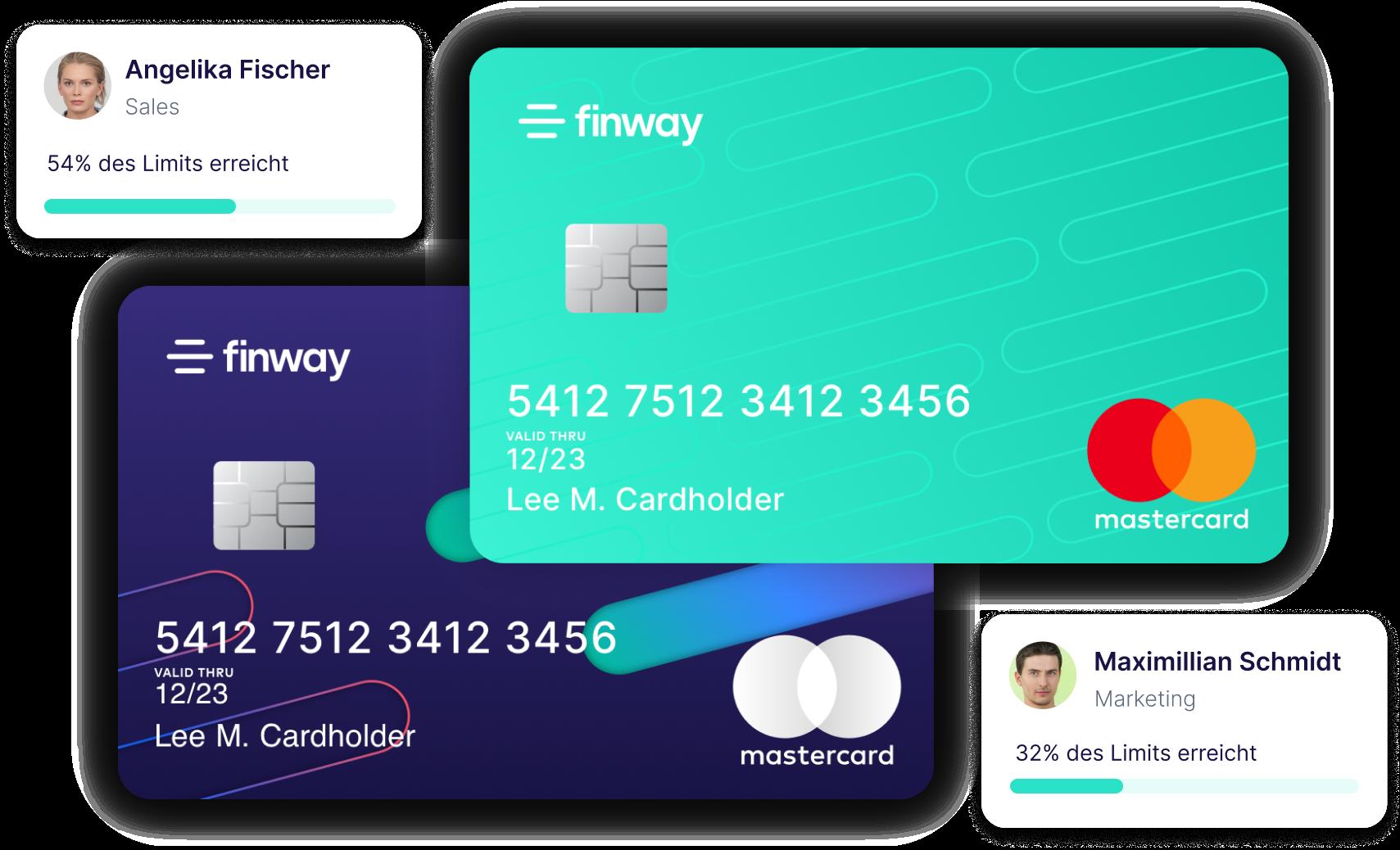 Neu bei finway: Smarte Firmenkarten